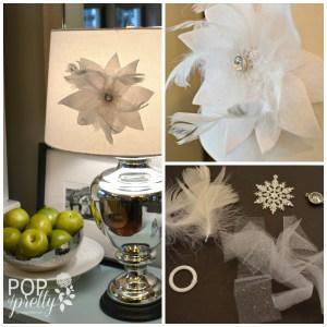 White flower hostess gift