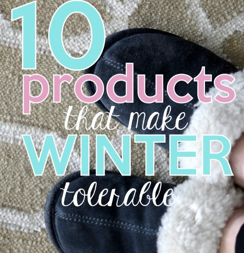 10 Winter favorite products