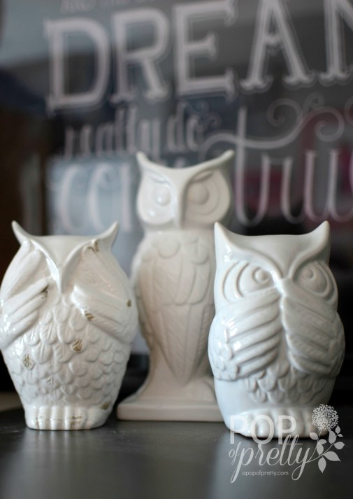 home accessories owls