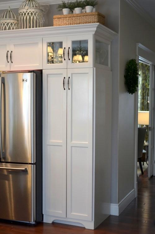 more kitchen storage tips - pantry