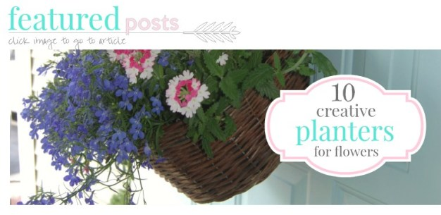 container gardening creative planters