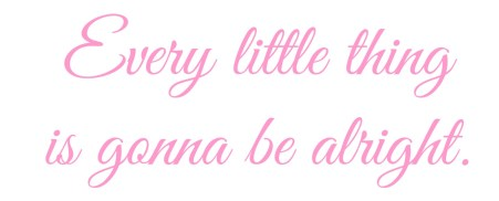 turning 40 - Every little thing quote