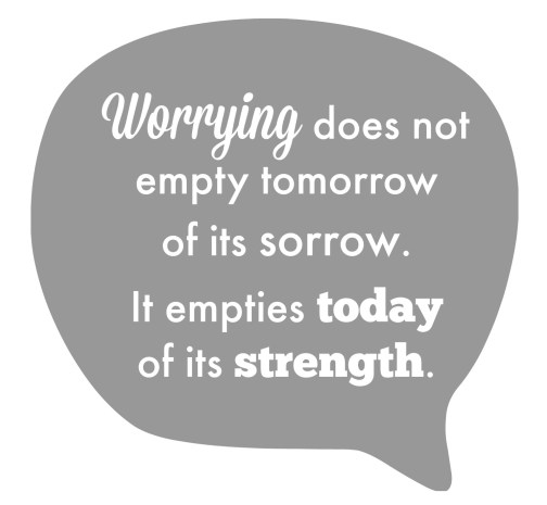 turning 40 - worrying quote