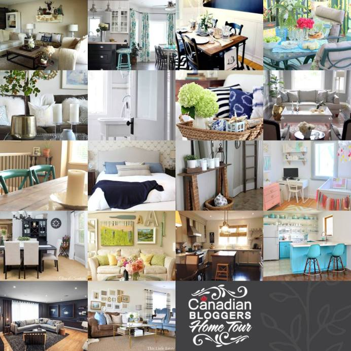 Canadian Bloggers Home Tour Next Week A Pop Of Pretty Blog Canadian Home Decorating Blog