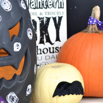 7 Easier than Easy No Carve Pumpkin Ideas