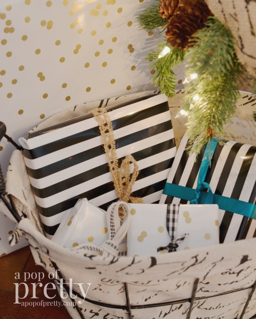 French inspired Christmas decor 12