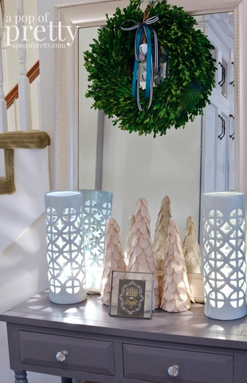 French inspired Christmas decor 19