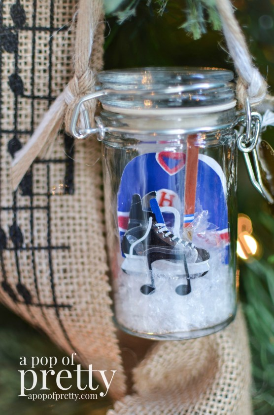 DIY Personalized Christmas Ornaments Spice Jars 2