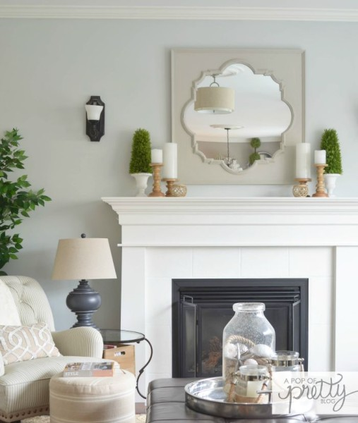 living room paint color - Behr