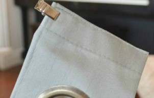 Curtain Hack Tutorial (No Sew): Grommet Curtains to Pleated Drapes
