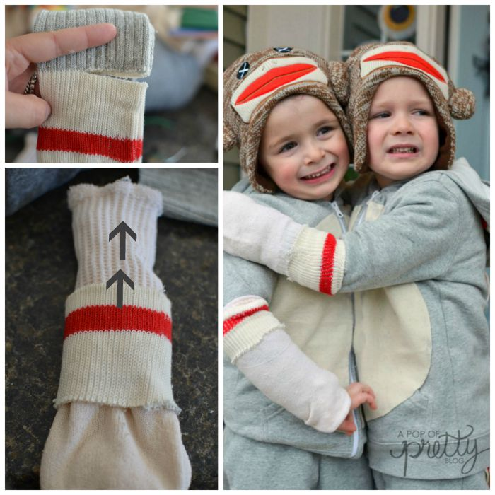 sock-monkey-costume-tutorial - Step3