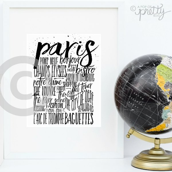 Paris Styled Photo Small Copyright