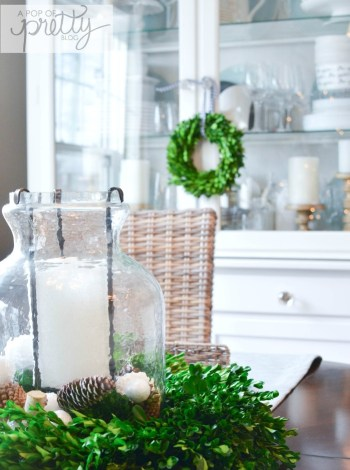 Cottage Christmas decor