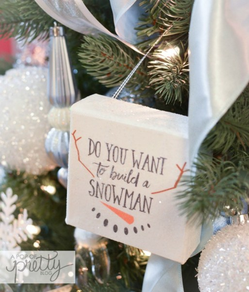 Disney Frozen Christmas Tree Ideas