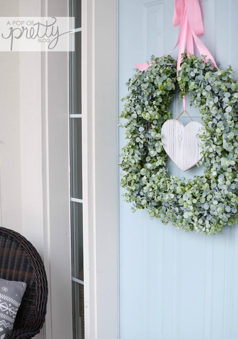 valentines day wreath 1