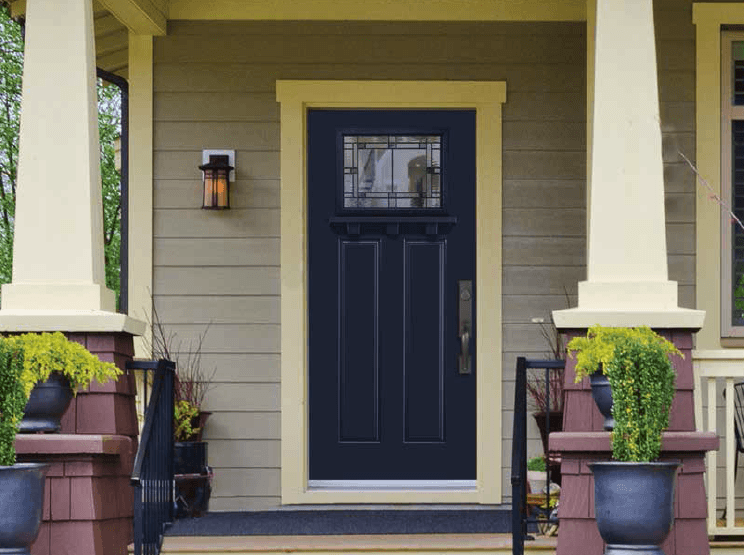 Craftsman home - Masonite door