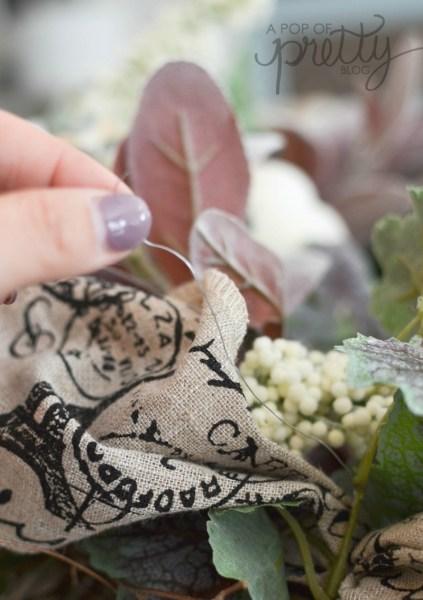 diy fall wreath floral