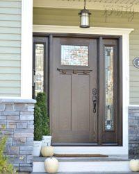 Our New Craftsman Front Door from Masonite - My Dream Door