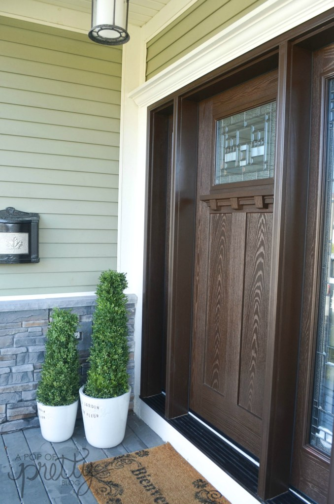Craftsman front door Barrington Naples
