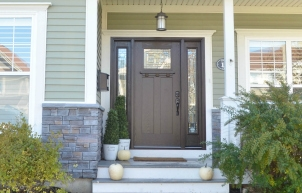 New Craftsman Front Door from Masonite!