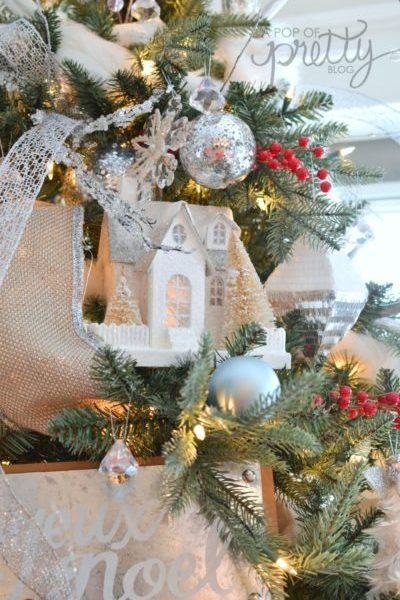 Christmas Home Tour Winter Wonderland