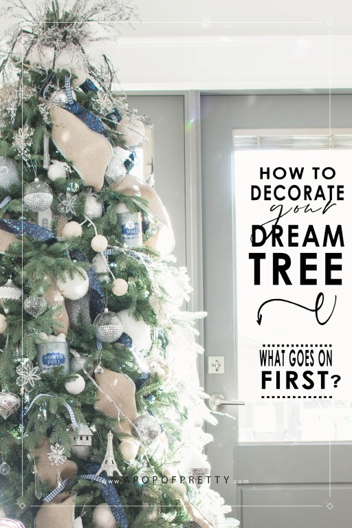 Tips and tricks for a professionally decorated tree