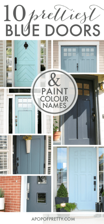 best blue door paint colours