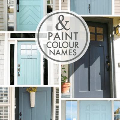 10 Pretty Blue Front Door Colour Ideas (Paint Names)