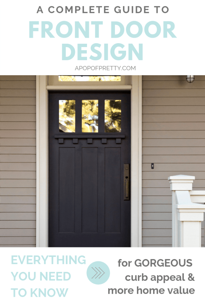 Front door design ideas - a complete guide