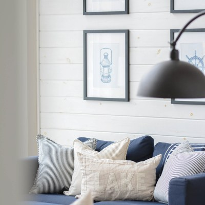 How to White Wash Shiplap: Step by Step Tutorial