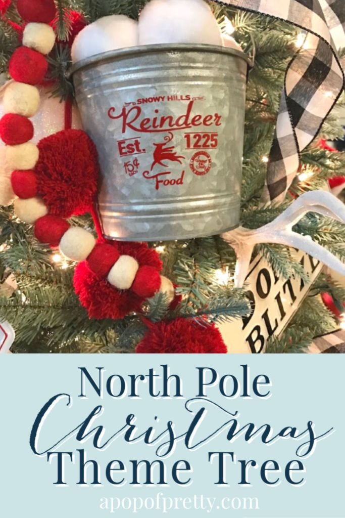 North Pole Themed Christmas Tree How To Create A Pop Of