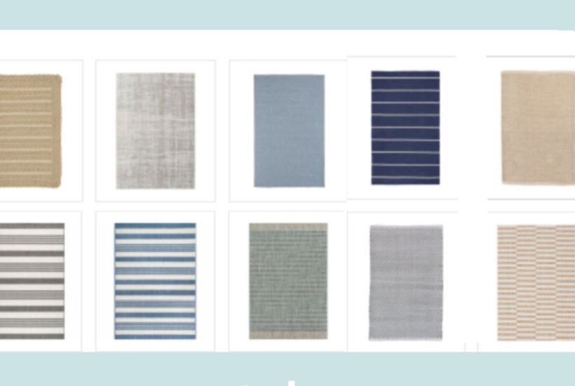 stylish affordable outdoor rugs