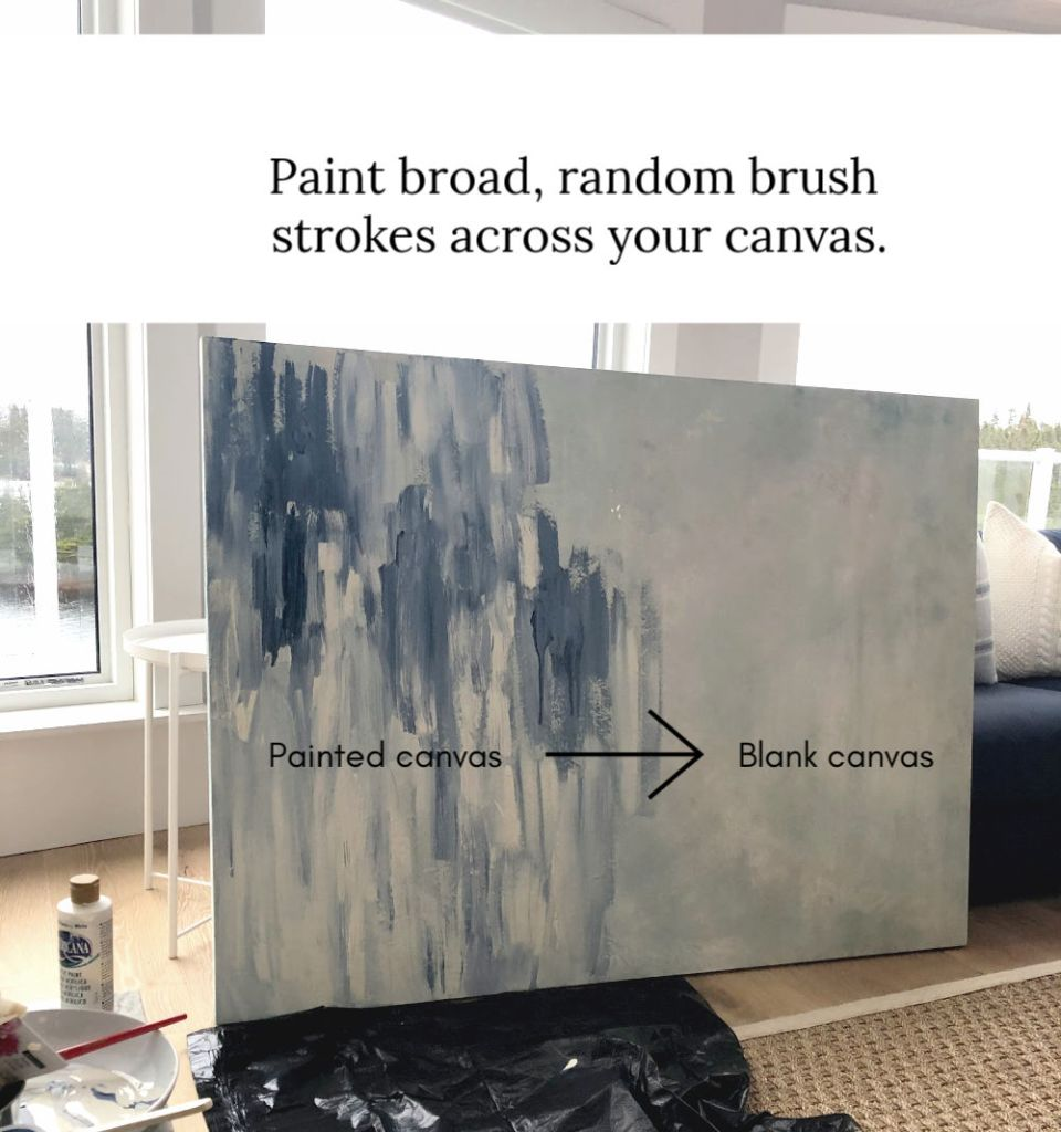 How to paint abstract art