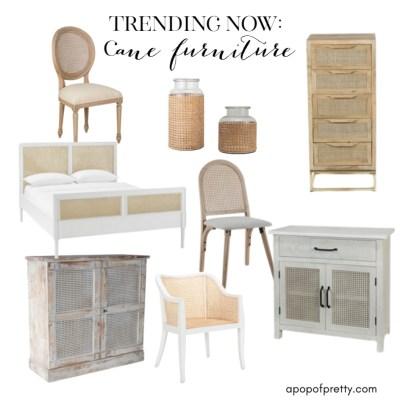 DIY Cane Furniture Makeovers (Trends I Love)