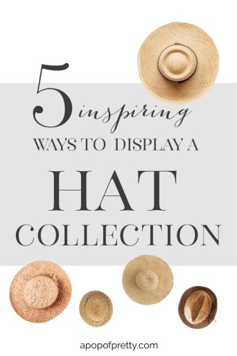 coastal hat wall display
