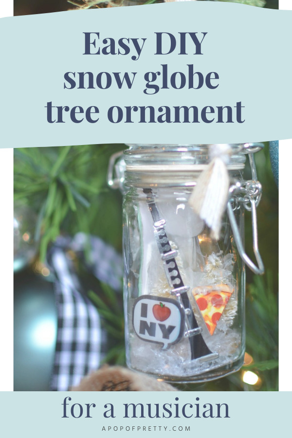 DIY Christmas Ornament Musician