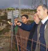 Επίσκεψη Αυγενάκη - Στασινού στο εργοτάξιο Αγ. Βαρβάρας  για το δρόμο Μεσαράς