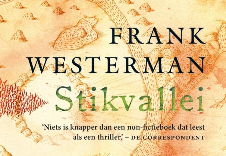 Omslag van het boek Stikvallei van Frank Westerman.