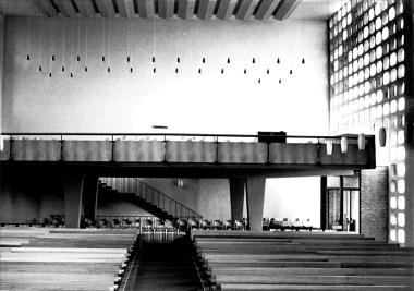 Empore noch ohne Orgel, © Orgelbau Beckerath
