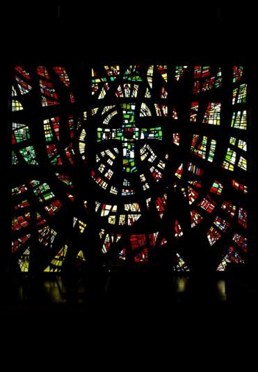 Glasfenster der Apostelkirche, © Torsten Behr