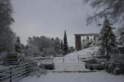 Stillstand der Abrissarbeiten im Dezember 2010 © Beate Sachs