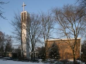 Apostelkirche im Schnee, 07.01.2010, © Beate Sachs