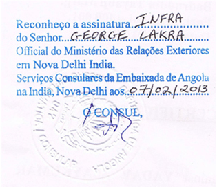 Agreement Attestation for Angola in Mumbai CST, Agreement Legalization for Angola , Birth Certificate Attestation for Angola in Mumbai CST, Birth Certificate legalization for Angola in Mumbai CST, Board of Resolution Attestation for Angola in Mumbai CST, certificate Attestation agent for Angola in Mumbai CST, Certificate of Origin Attestation for Angola in Mumbai CST, Certificate of Origin Legalization for Angola in Mumbai CST, Commercial Document Attestation for Angola in Mumbai CST, Commercial Document Legalization for Angola in Mumbai CST, Degree certificate Attestation for Angola in Mumbai CST, Degree Certificate legalization for Angola in Mumbai CST, Birth certificate Attestation for Angola , Diploma Certificate Attestation for Angola in Mumbai CST, Engineering Certificate Attestation for Angola , Experience Certificate Attestation for Angola in Mumbai CST, Export documents Attestation for Angola in Mumbai CST, Export documents Legalization for Angola in Mumbai CST, Free Sale Certificate Attestation for Angola in Mumbai CST, GMP Certificate Attestation for Angola in Mumbai CST, HSC Certificate Attestation for Angola in Mumbai CST, Invoice Attestation for Angola in Mumbai CST, Invoice Legalization for Angola in Mumbai CST, marriage certificate Attestation for Angola , Marriage Certificate Attestation for Angola in Mumbai CST, Mumbai CST issued Marriage Certificate legalization for Angola , Medical Certificate Attestation for Angola , NOC Affidavit Attestation for Angola in Mumbai CST, Packing List Attestation for Angola in Mumbai CST, Packing List Legalization for Angola in Mumbai CST, PCC Attestation for Angola in Mumbai CST, POA Attestation for Angola in Mumbai CST, Police Clearance Certificate Attestation for Angola in Mumbai CST, Power of Attorney Attestation for Angola in Mumbai CST, Registration Certificate Attestation for Angola in Mumbai CST, SSC certificate Attestation for Angola in Mumbai CST, Transfer Certificate Attestation for Angola