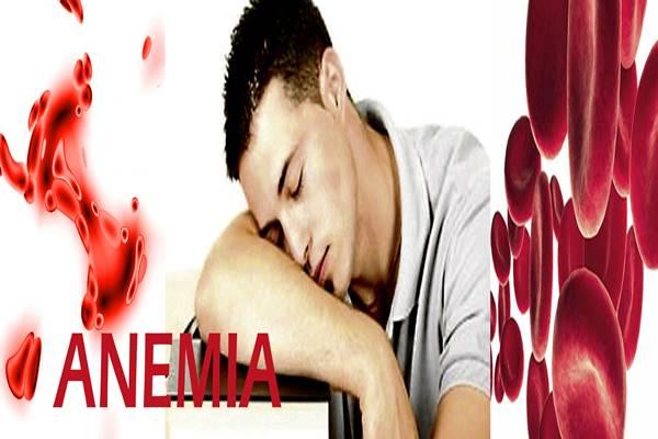 sebab tanda gejala penyakit anemia