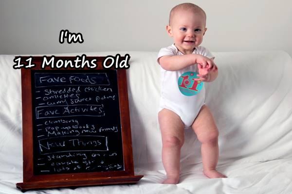perkembangan bayi umur 11 bulan yang sehat normal
