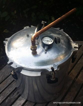 Home Distillation-Homemade pot stills- gasketless seal.