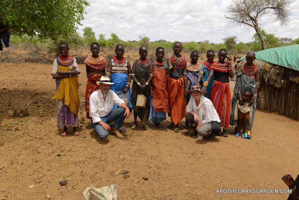 Subdued by the Samburu women