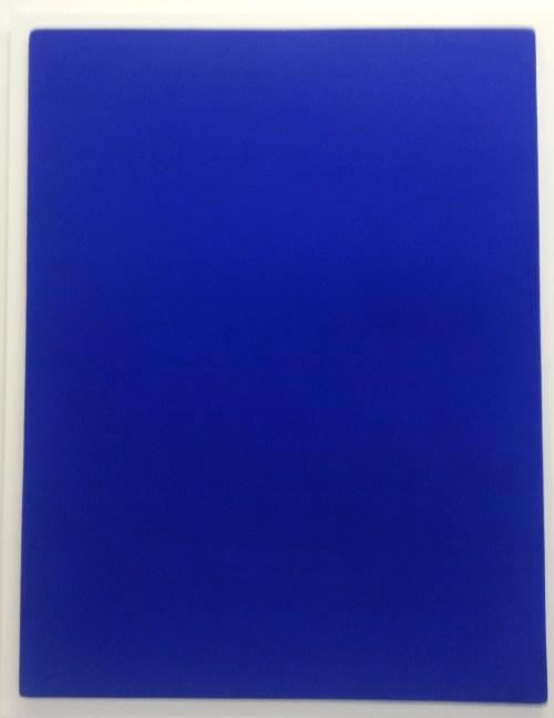 Enter the blue