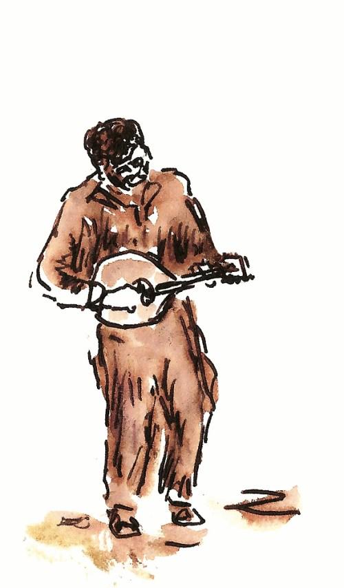 Sketch by Joel Winstead.