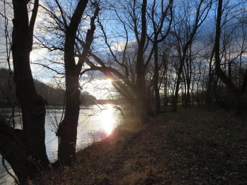 Spring-like day on the Shenandoah